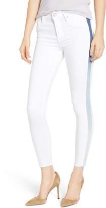 Hudson Jeans Barbara High Waist Side Stripe Skinny Jeans