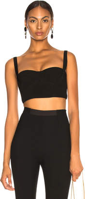 Dion Lee Bonded Crepe Bustier Top