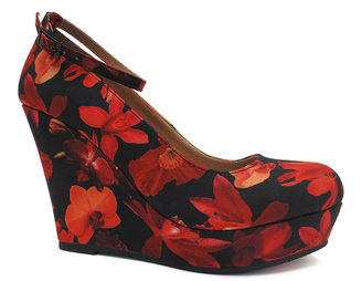 Red Suspect Wedge $43 thestylecure.com