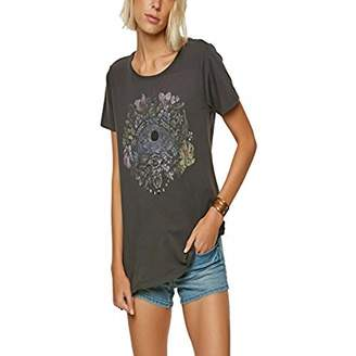 O'Neill Women's Deserted Island Bird Black Artist Series Tee