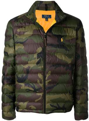 Polo Ralph Lauren camouflage padded jacket