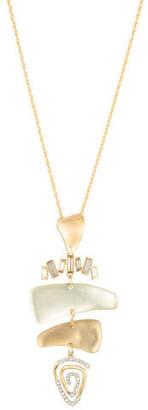 Alexis Bittar Dancing Baguette Spiral Mobile Necklace