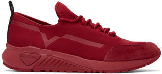 Diesel Red S-KBY Sneakers