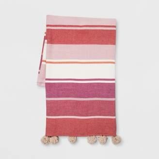 Opalhouse Woven Cotton Throw Blanket