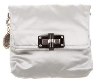 Lanvin Satin Chain-Link Bag