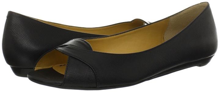 Nine West Aloha (Black Leather) - Footwear