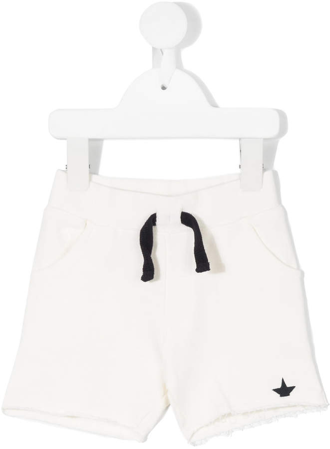 Macchia J Kids embroidered logo shorts