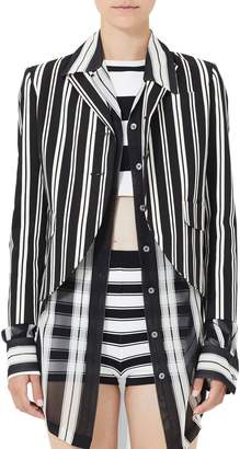 Marc Jacobs Stripe Shrunken Blazer