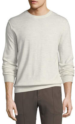 Vince Men's Heathered Crewneck Sweater
