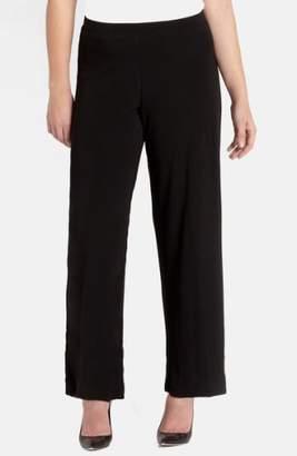 Karen Kane Straight Leg Matte Jersey Pants