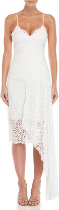 Milly Giselle Lace Asymmetrical Dress
