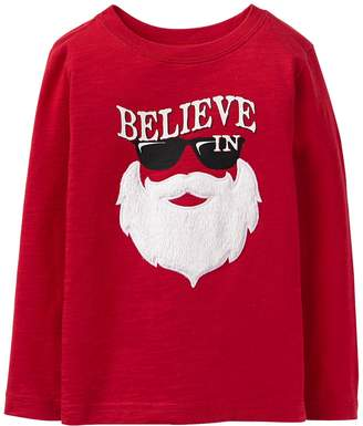 Crazy 8 Crazy8 Believe In Santa Tee