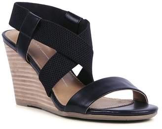 da9aa61416 Report Sinclair Cross Strap Wedge Sandal