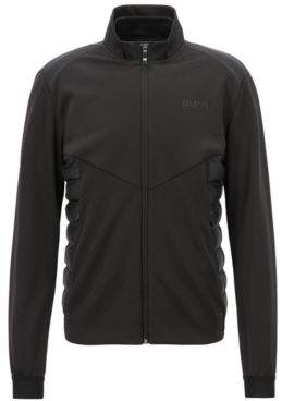 BOSS Hugo Down-filled jacket in water-repellent technical fabric XXL Black