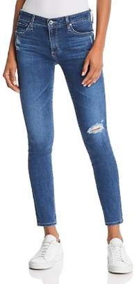 AG Jeans Ankle Legging Jeans in Seven Seas Destruct