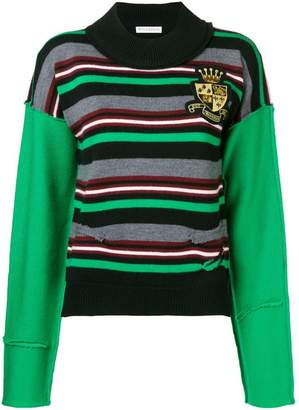 J.W.Anderson logo crest knitted jumper