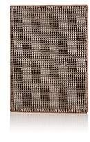 Barneys New York Men's Mesh & Leather Passport Case - Gold