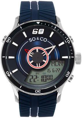Co SO & So & Mens Blue Strap Watch-Jp15517