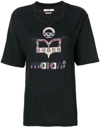 Etoile Isabel Marant printed logo T-shirt