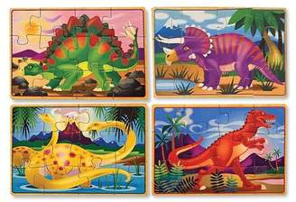 Dinosaurs 4 Puzzle Set in a Box - 48 Pieces