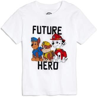 Junk Food Clothing x Nickelodeon Boys' Paw Patrol Hero Tee, Little Kid - 100% Exclusive