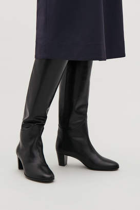 Cos KNEE-HIGH LEATHER BOOTS