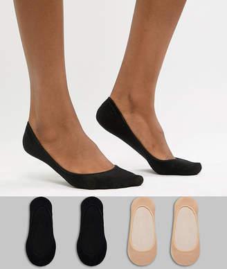 Gipsy 4 pack footsie socks