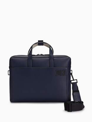 Calvin Klein logo laptop bag