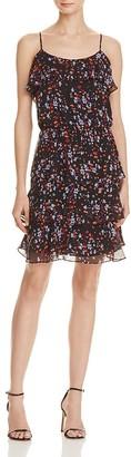 Parker Macy Printed Silk Dress $268 thestylecure.com