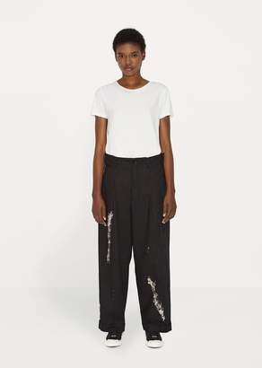 Yohji Yamamoto Tuck Pant Black