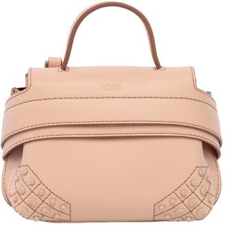Tod's Micro Wave Leather Shoulder Bag