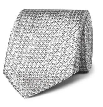 Tom Ford 8cm Houndstooth Silk-Jacquard Tie