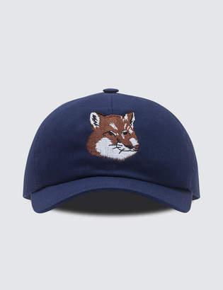 MAISON KITSUNÉ Par Rec Cap 6p Large Fox Head Embroidery