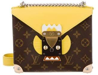 Louis Vuitton Monogram Tribal Mask Pochette PM