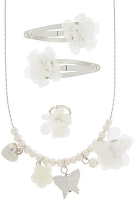 Monsoon Pretty Flower Charm Jewellery Set