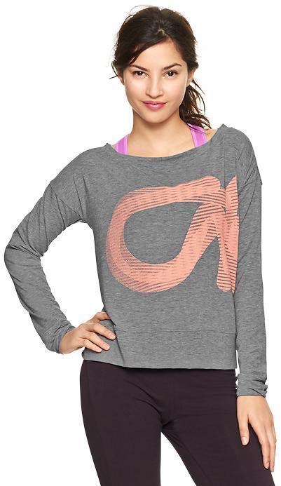 Gap GapFit Breathe logo sweatshirt