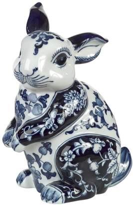 Pols Potten Rabbit Shaped Porcelain Money Bank