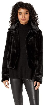 6a8be67994a Blank NYC Faux Fur Crop Jacket in Uptown Girl
