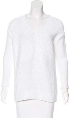 Helmut Lang Knit V-Neck Sweater