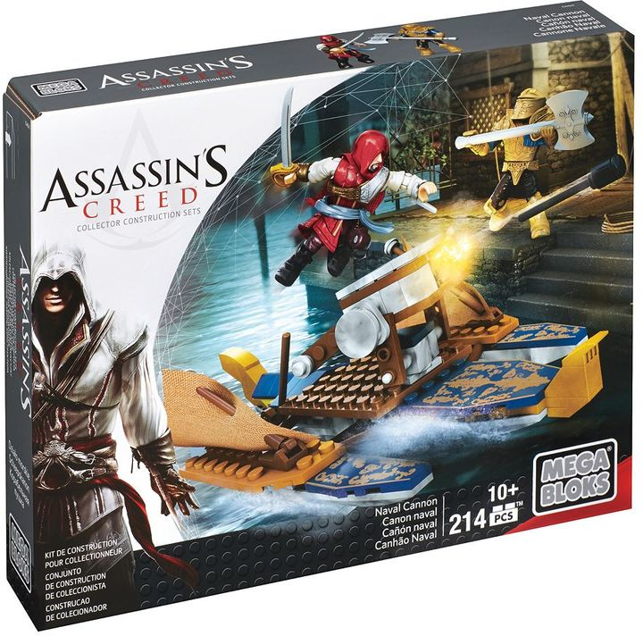 Mega Bloks Assassin's Creed Naval Cannon