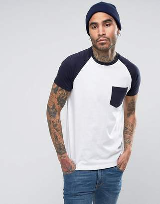 French Connection Raglan with Contrast Pocket