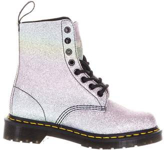 Dr. Martens Multicolor Glitetr Leather Bootie