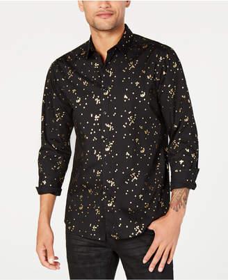 INC International Concepts I.n.c. Men's Confetti Foil Shirt