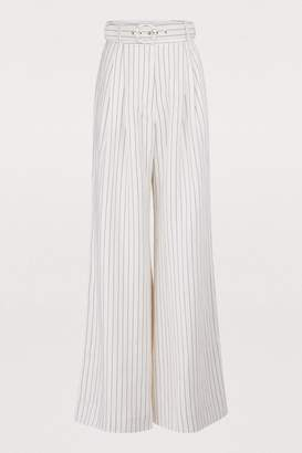 Zimmermann Corsage linen pants
