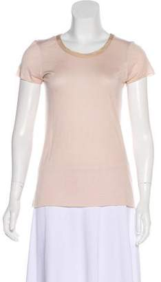 AllSaints Short Sleeve Knit Top