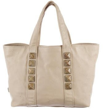Marc JacobsMarc Jacobs Stone-Embellished Leather Tote