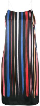 DAY Birger et Mikkelsen Adam Selman stripe slip dress