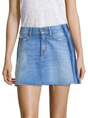 The Kooples Mini Denim Skirt