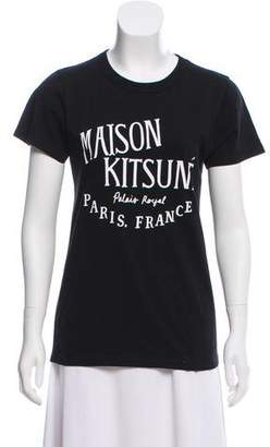 MAISON KITSUNÉ Printed Short Sleeve T-Shirt