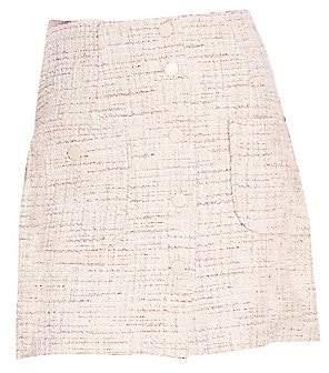 2810a3ae045345 Sandro Women's Agatha Tweed A-Line Skirt